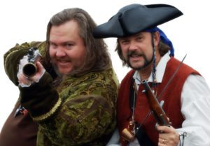 """""""Cap'n Slappy"""" and """"Ol' Chumbucket"""", the founders of Talk Like a Pirate Day"""